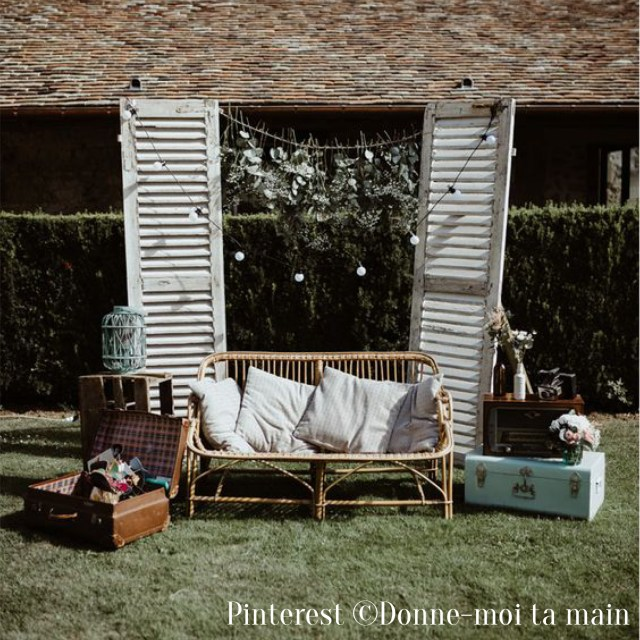 Photobooth de mariage-Décor