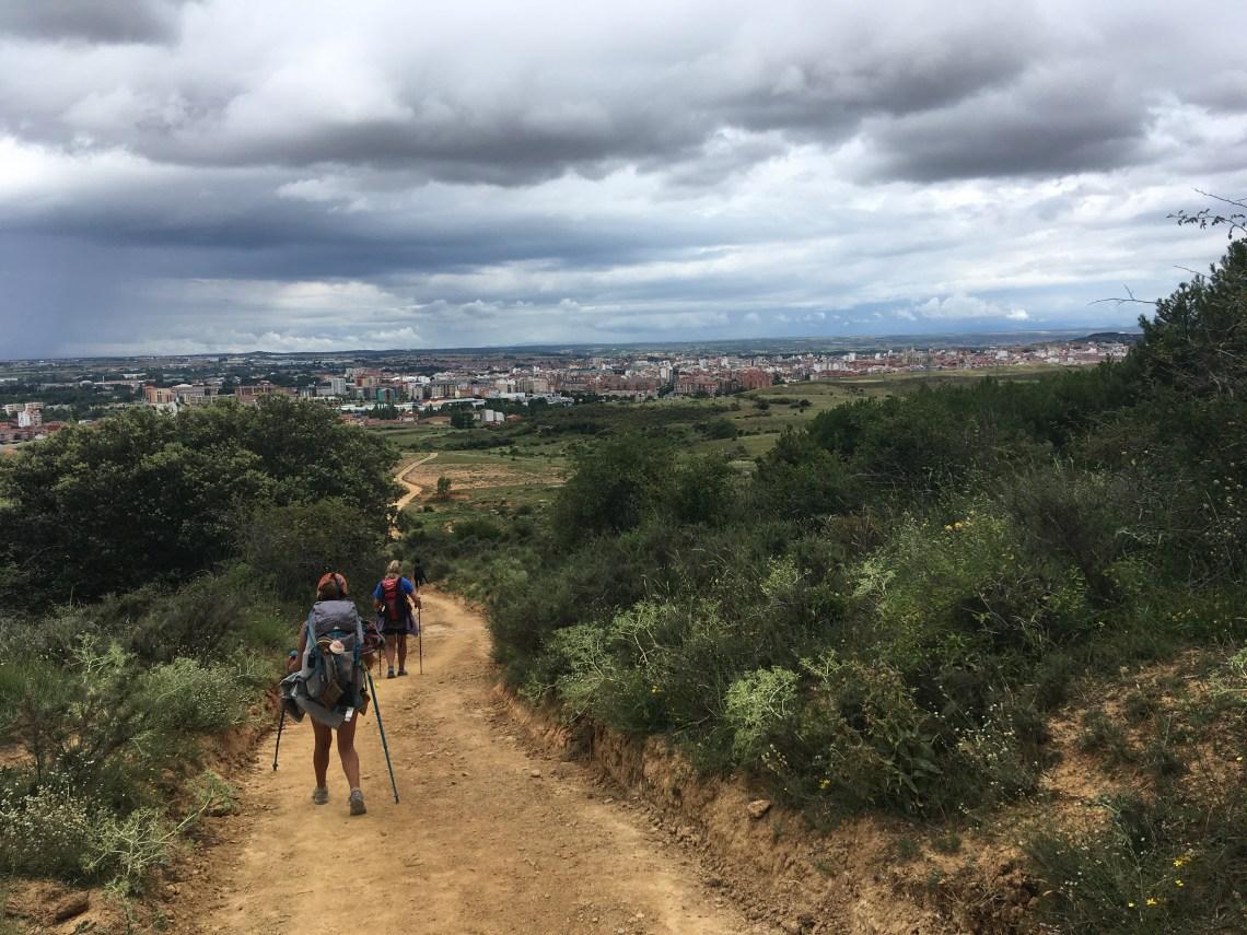 Chemin de Compostelle pèlerins rando