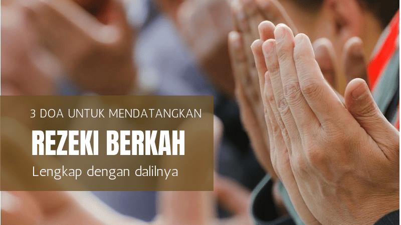 5 Doa Mendatangkan Rezeki Tak Terduga Ampuh Cepat Lengkap