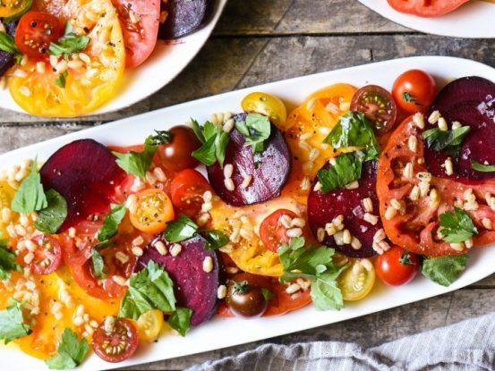 salad bit dan tomat