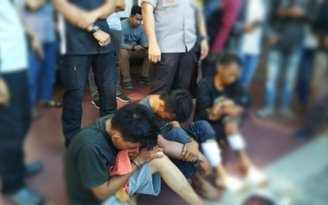 Polresta Palangka Raya Ringkus Kembali Pencuri  specialis Pecah Kaca Mobil
