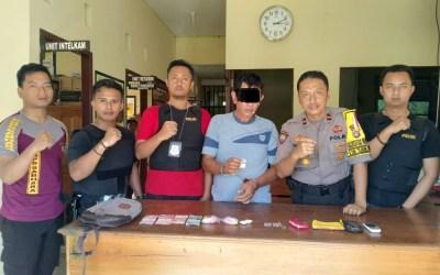 Polsek Katingan Kuala Berhasil Ringkus Pengedar Sabu