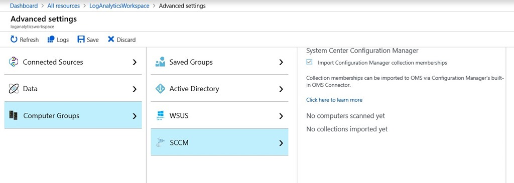 How to Setup Azure Monitor logs Integration with