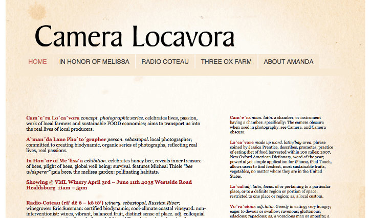 Camera Locavora