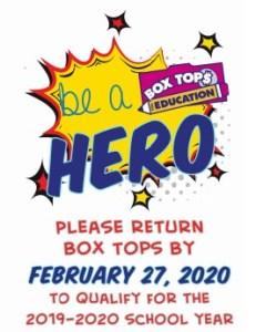 Box top reminder full - Box Top Reminder Flyer