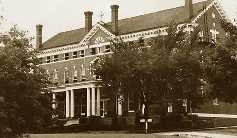 Linton Hall 1945 - Welcome