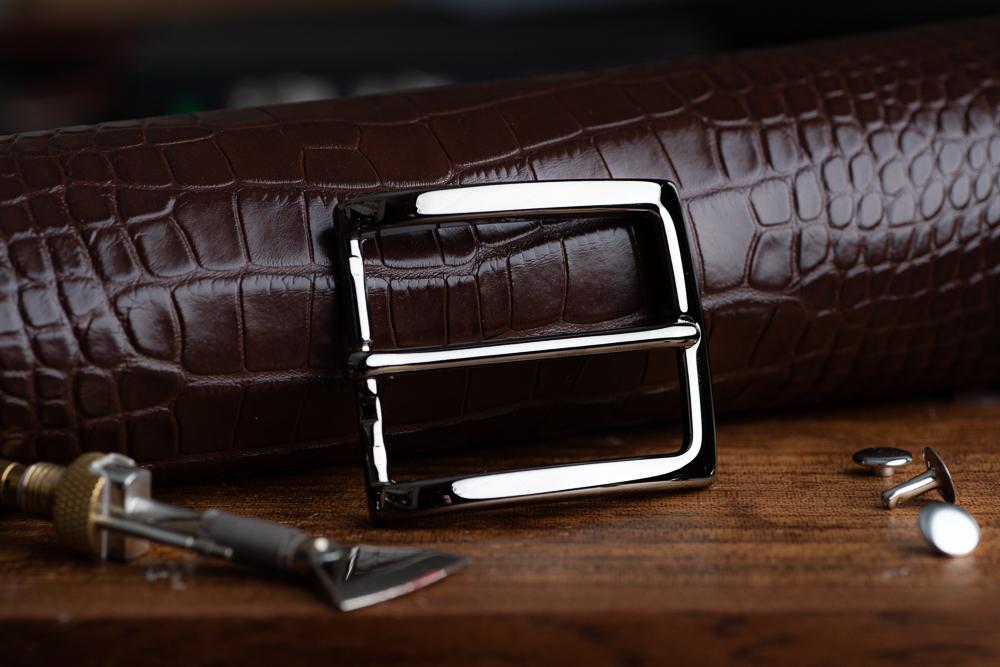 Italian Brass belt buckle