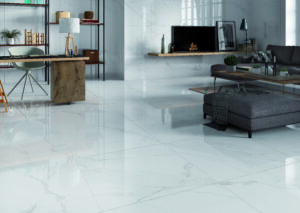 naos white porcelain tile polished