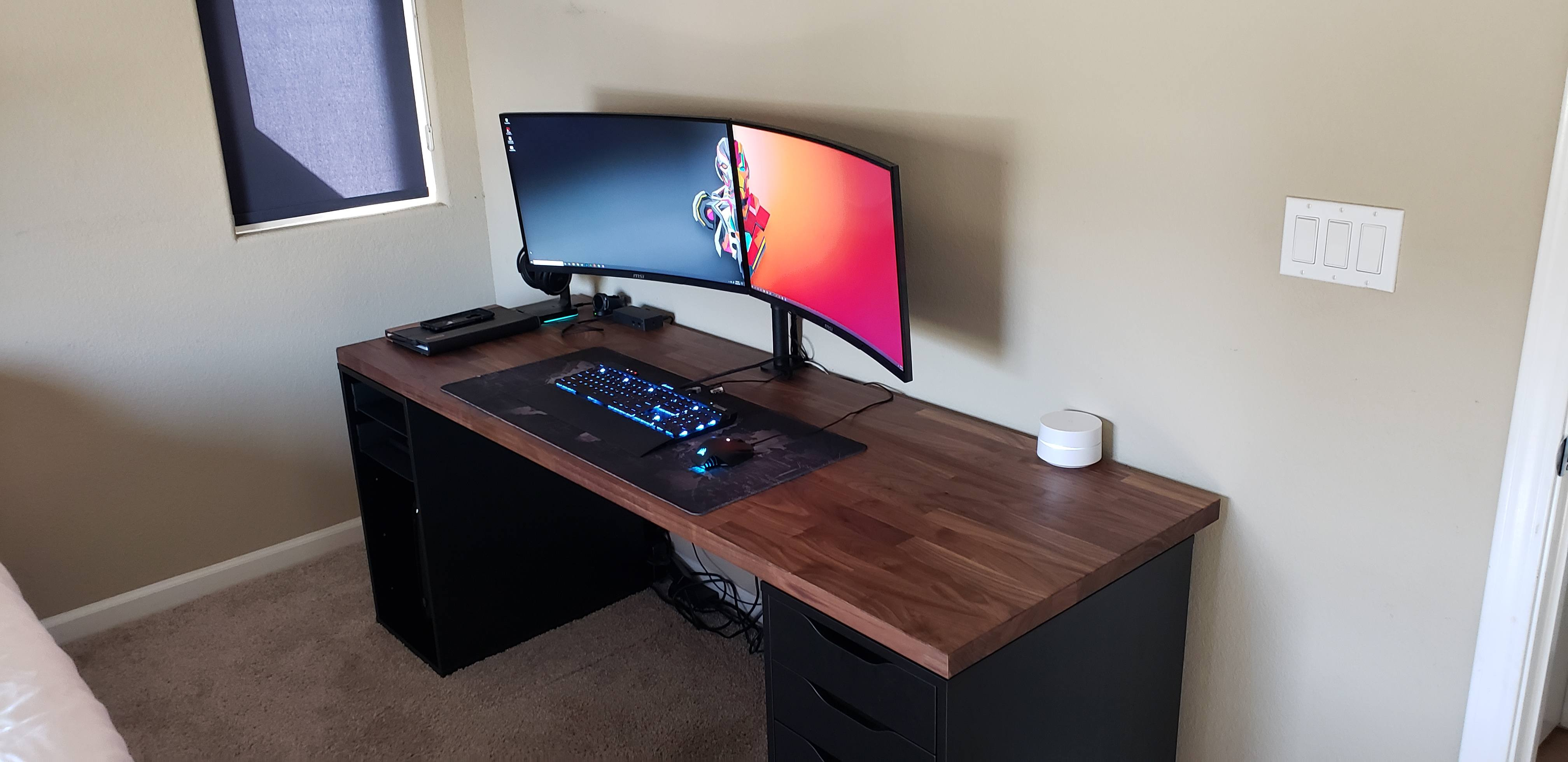 Ikea Desk Upgrade New Builds And Planning Linus Tech Tips
