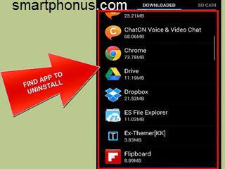 Как удалить приложение на Android