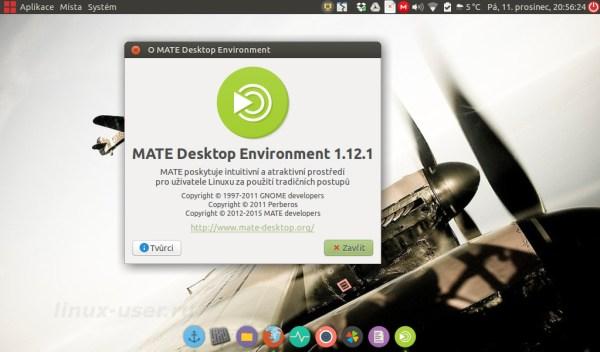 Установка обновленного MATE 1.12.1