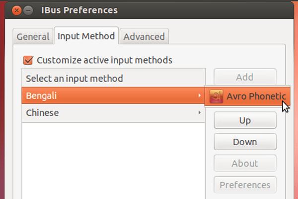 IBus Preference