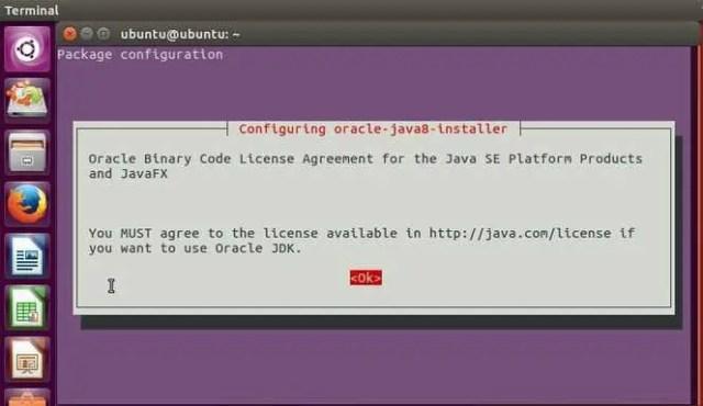 configure java8 in ubuntu