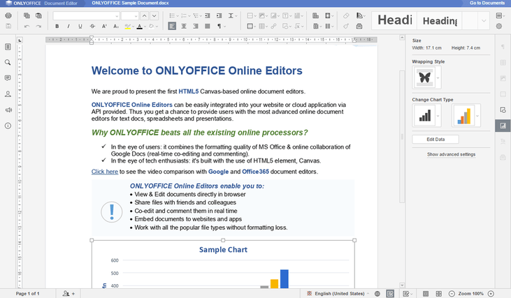 onlyoffice word