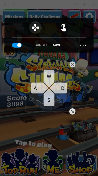 play subway surfer on pc