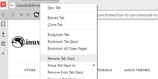 rename tab stacks