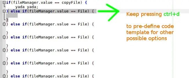 duplicate code in short way