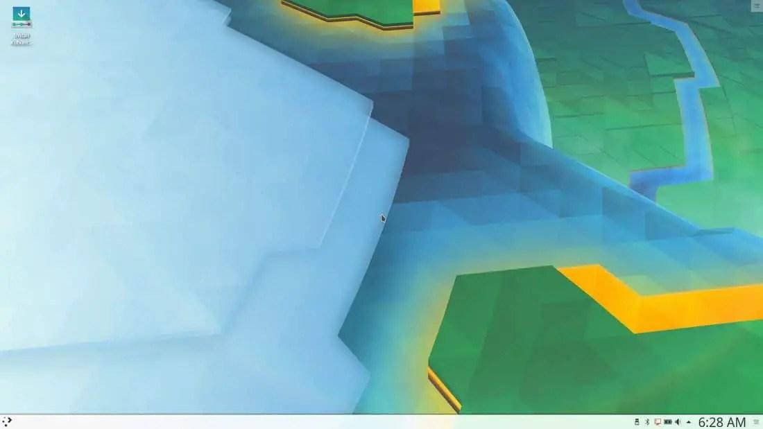 kubuntu 17.10 desktop