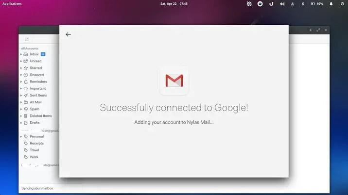 nylas email hybrid backend