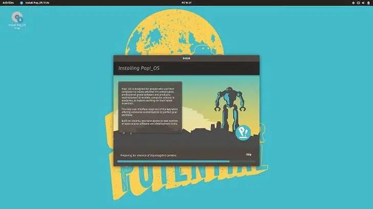 system76 gnome desktop