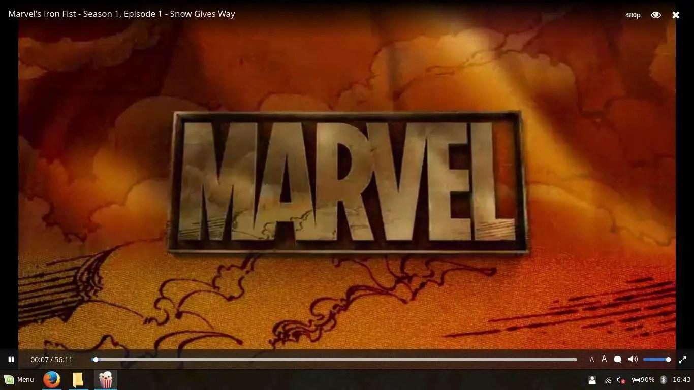 watch marvel on popcorn time