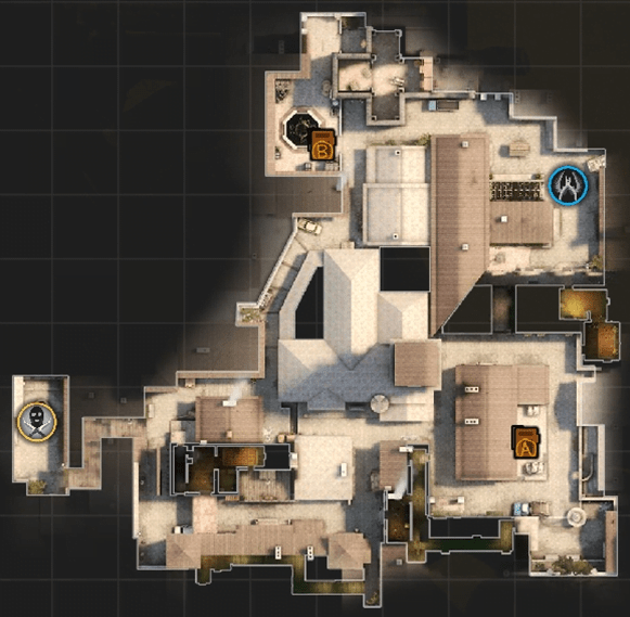 Inferno map which is a classic now in CS:GO linux mac pc