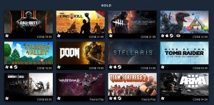 steam top 100 best sellers of 2016 gold