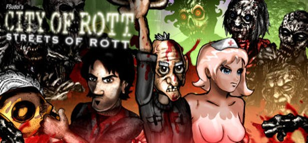 city of rott: streets of rott horror beat 'em up release now on linux mac pc