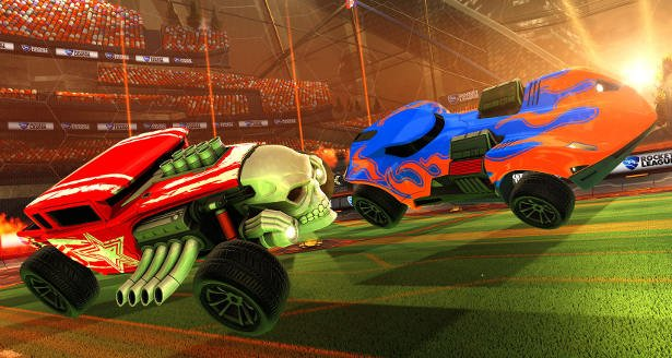 rocket league gets new hot wheels cars twin mill III and bone shaker linux pc games