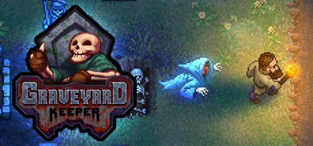 graveyard keeper management sim is available on linux mac windows