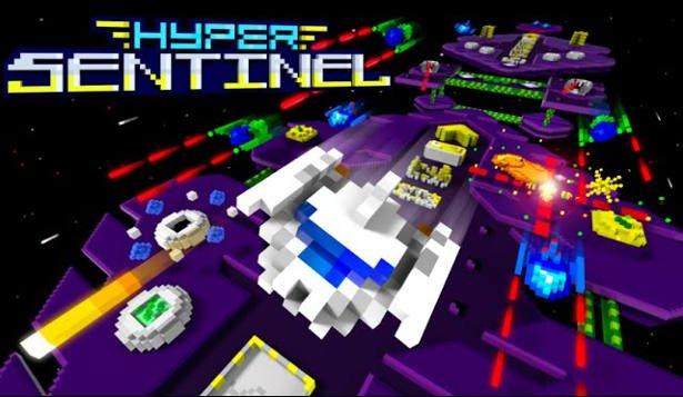 hyper sentinel arcade shoot em up launches on linux mac windows