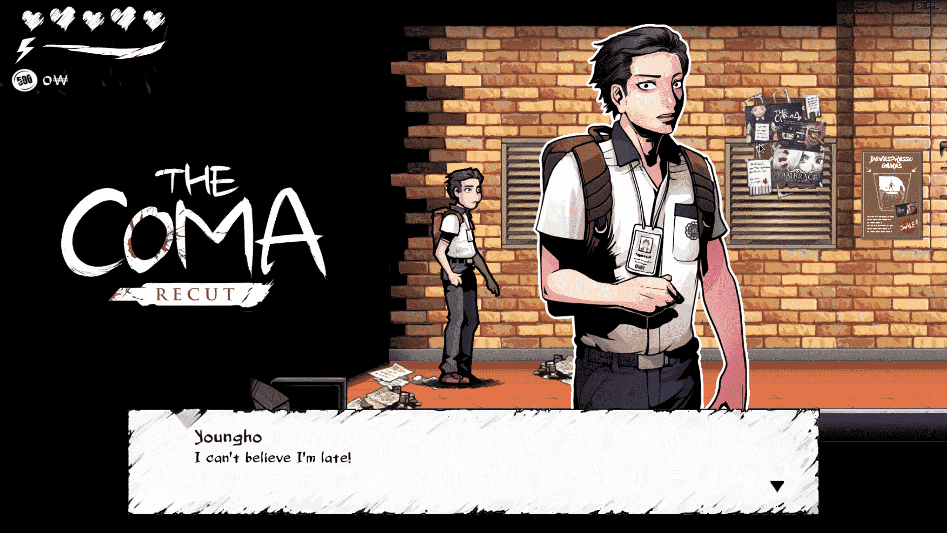 the coma: recut now available on linux ubuntu mac windows games via steam screenshot