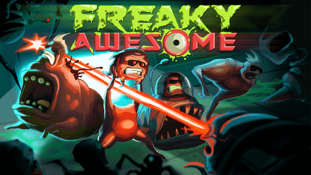 freaky awesome roguelite action coming to linux and windows games 2017
