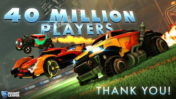 rocket league now has 40 million players across linux mac windows