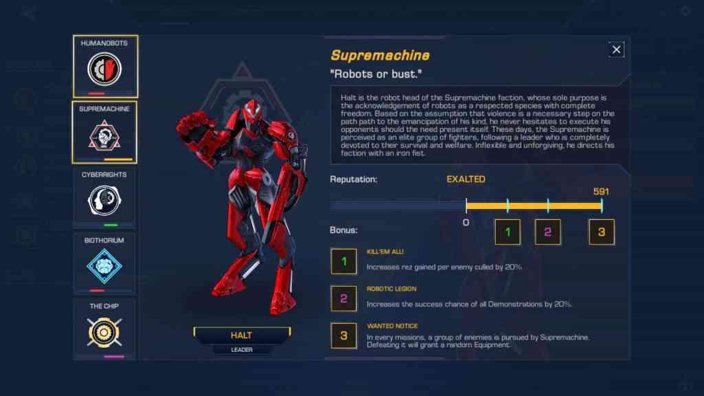 robothorium roguelike rpg strategy linux mac windows screenshot faction