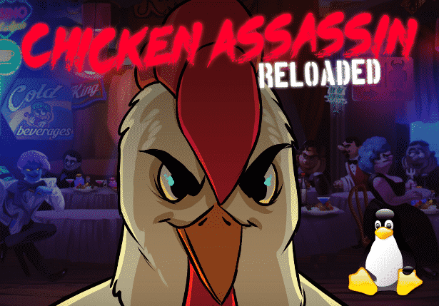 chicken assassin reloaded casual rpg releases linux support