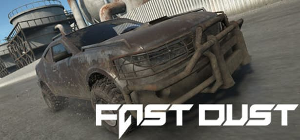 fast dust is a racing game coming to steam for linux and windows