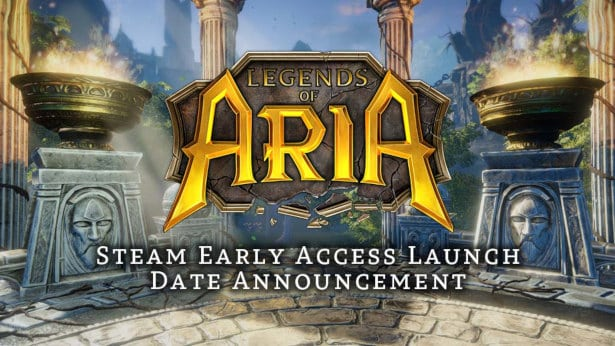 legends of aria debuts on steam December 4th linux mac windows