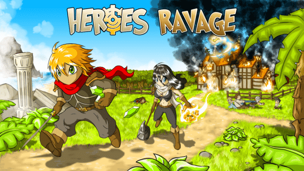 heroes ravage action launches on kickstarter for linux mac windows
