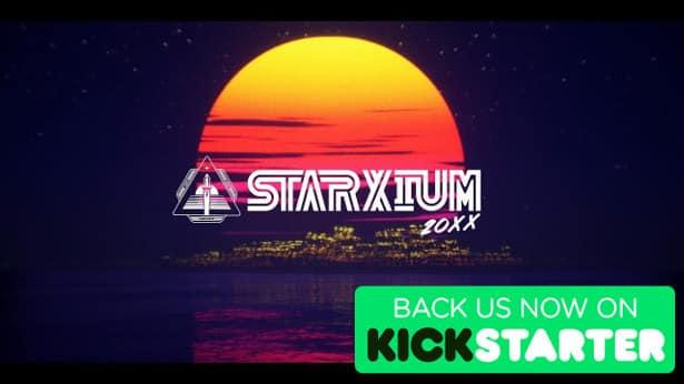 starxium 20XX competitive on kickstarter games for linux mac windows