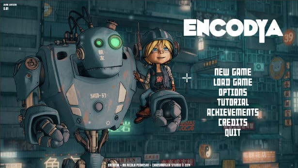 encodya point and click blade runner world in linux mac windows pc games