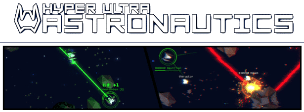 hyper ultra astronautics a free space shooter in linux windows pc games
