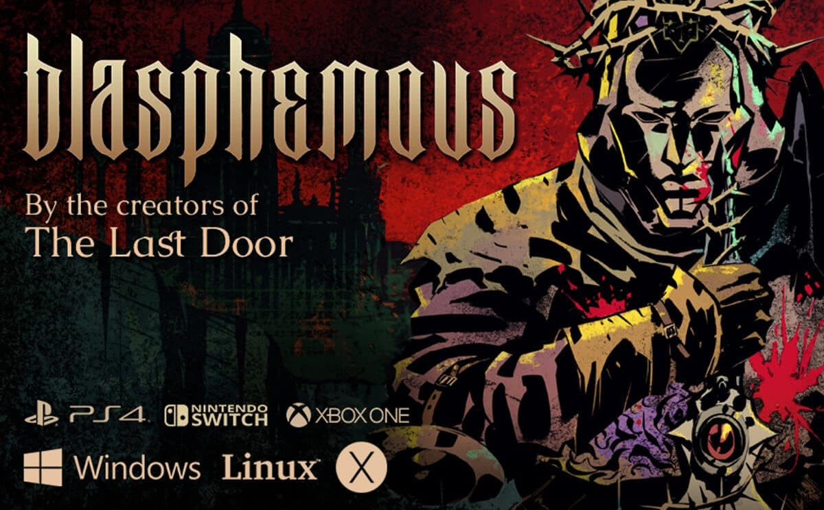 blasphemous action adventure game support coming later for linux beside windows pc