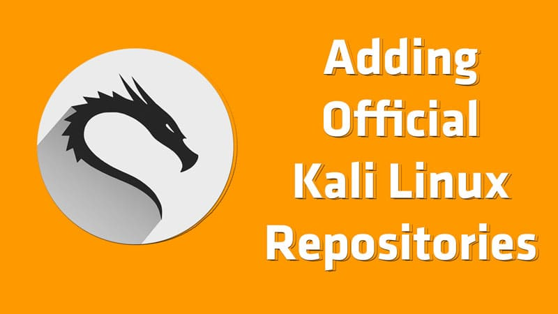 Adding repositories on kali Linux