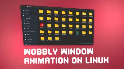 Wobbly window effect for Linux