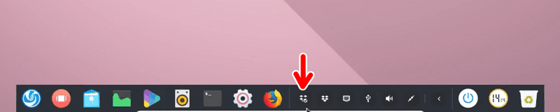 Dropbox successfully sysnchromized