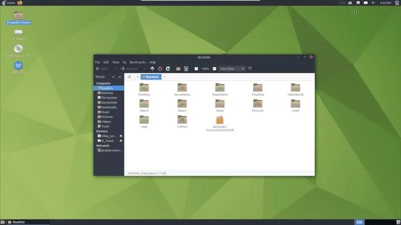Mate desktop environmet