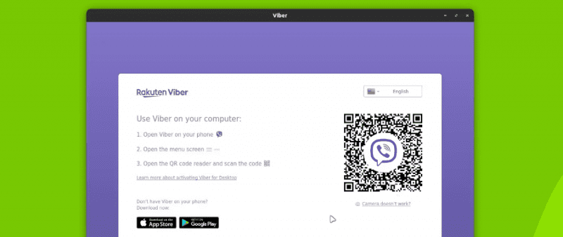 Running viber messenger in Linux for the first time