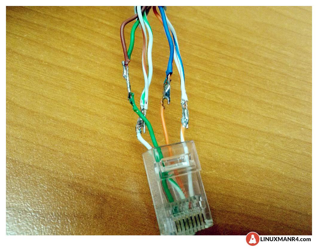 cable de red redundante