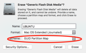 Erase USB Volume with Disk Utility on Mac